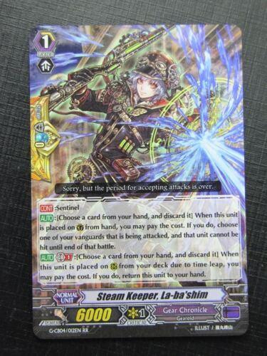 STEAM KEEPER LA-BA/'SHIM G-CB04 RR # 22G66 Vanguard Cards