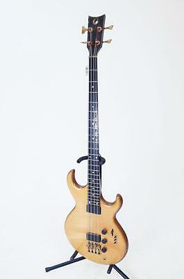 CUSTOM BIRCH AND MAHOGANY ELECTRIC BASS GUITAR WITH GATOR HARD CASE P... Lot 130