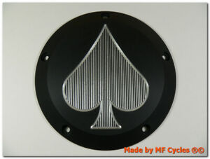 Kupplungsdeckel-Harley-Davidson-Twin-Cam-EVO-Softail-Derby-Cover-Ace-of-Spades