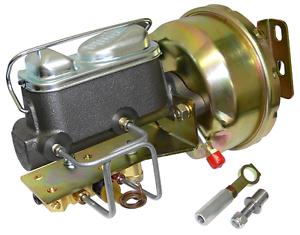 Disc 1964-66 Mustang Power Brake Booster Conversion Drum