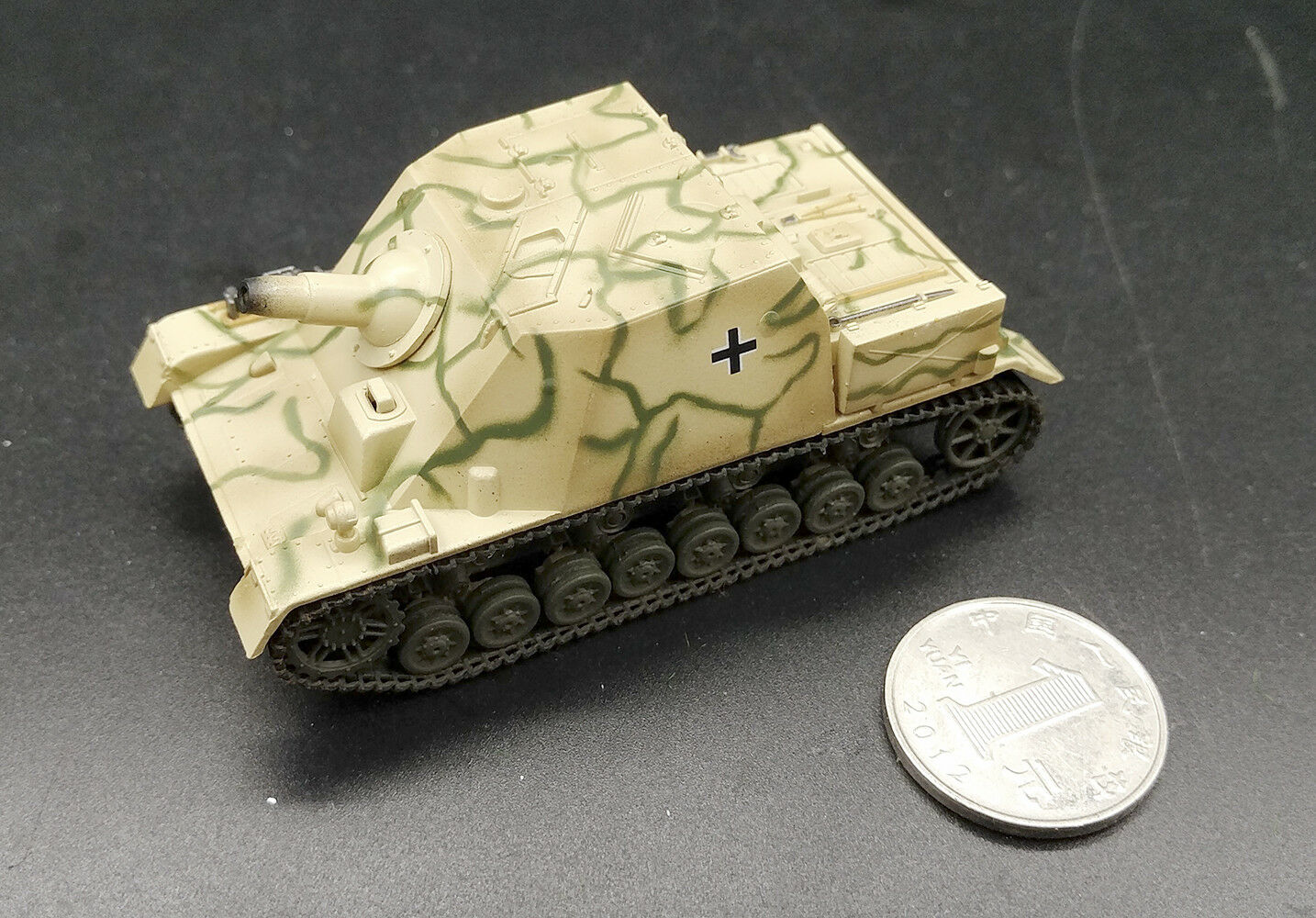 WWII BRUMMBAR Eastern Front 1944 1/72 tank easy model model model finished non diecast 4a0926