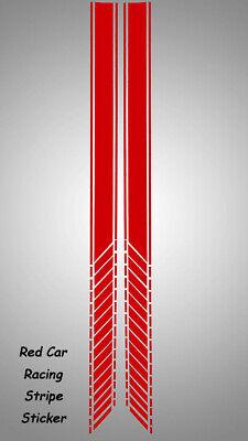 Pair Car Racing Stripe Lower Door Panel Decals for LAVIDA Vinyl Side Sticker