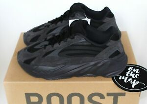 new concept 22618 d72f6 Details about Adidas Yeezy Boost 700 V2 Vanta Black Kids UK 2 2.5 Adults 5  6 8 13 14 US New