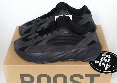 Adidas Yeezy Boost 700 V2 Vanta Black Kids UK 2 2.5 adultes 5 6 8 13 14 US NEW   eBay