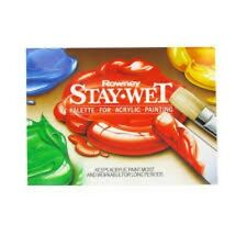 Daler Rowney Stay Wet Mixing Palette for Acrylics - Staywet Small, FREE P&P