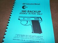 Amt, 380 Back-up, Manual, Semi-automatic, 11 Pages