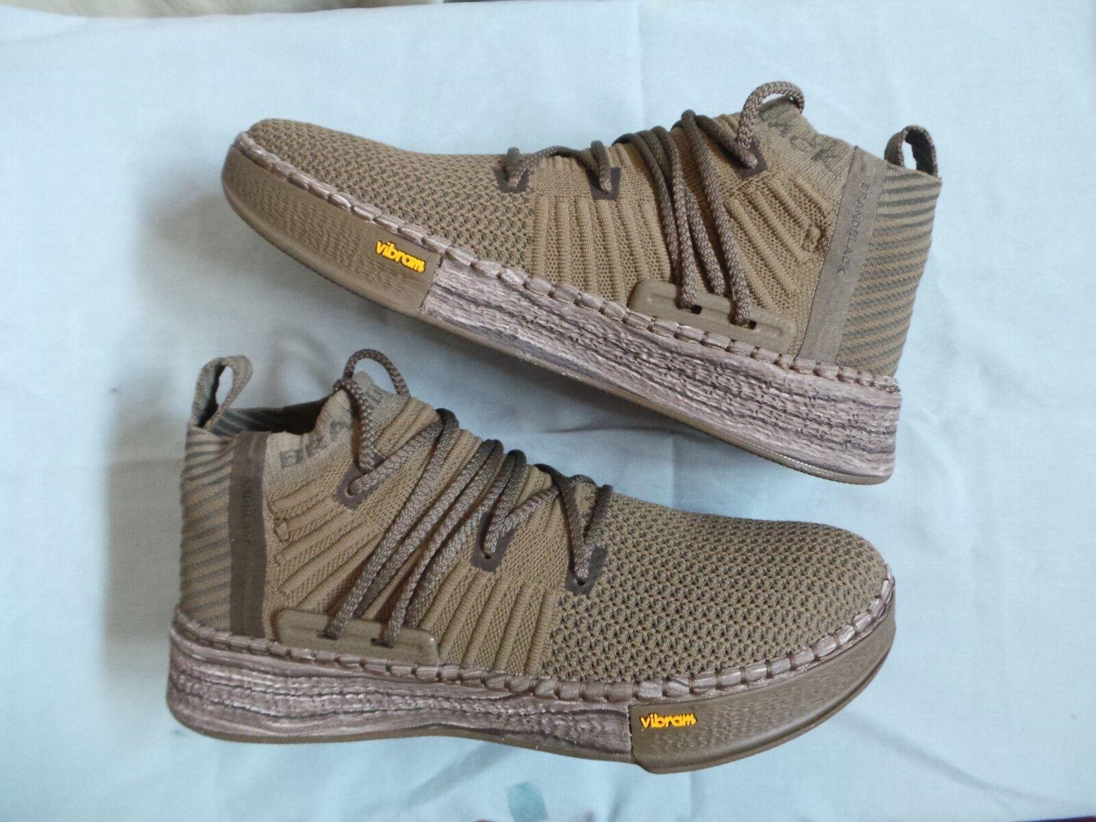 Brandnoir Brand Noir Delta Vibram Basket Chaussure Tricot Sz 11 DS NEUF NEW IN BOX 140