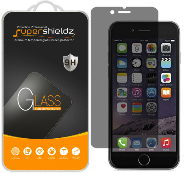 Supershieldz Privacy Anti-Spy [Tempered Glass] Screen Protector For iPhone 7