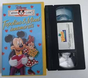 VHS-TOPOLINO-amp-MINNI-INNAMORATI-di-Walt-Disney-WALT-DISNEY