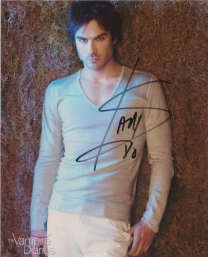 Autogramm Lost Vampire Diaries 2 Autograph Ian Somerhalder