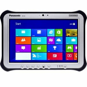 Panasonic Toughpad Fz-g1 Mk1 I5-3437u 4 Go 128 Go Win 10 Pro 3 G Webcam-afficher Le Titre D'origine Doux Et LéGer