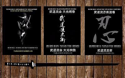 Kyahan Black Ninja Leggings Ninjutsu Ninpo Genbukan Bujinkan Jinenkan