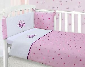 Little Princess Pink Cot Quilt