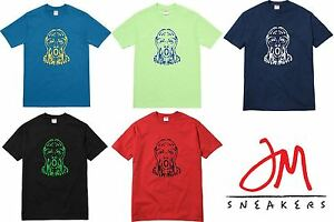 f8dbb80a6607 SUPREME Scream Tee Red Light Green Navy Black Deep Blue M box logo S ...