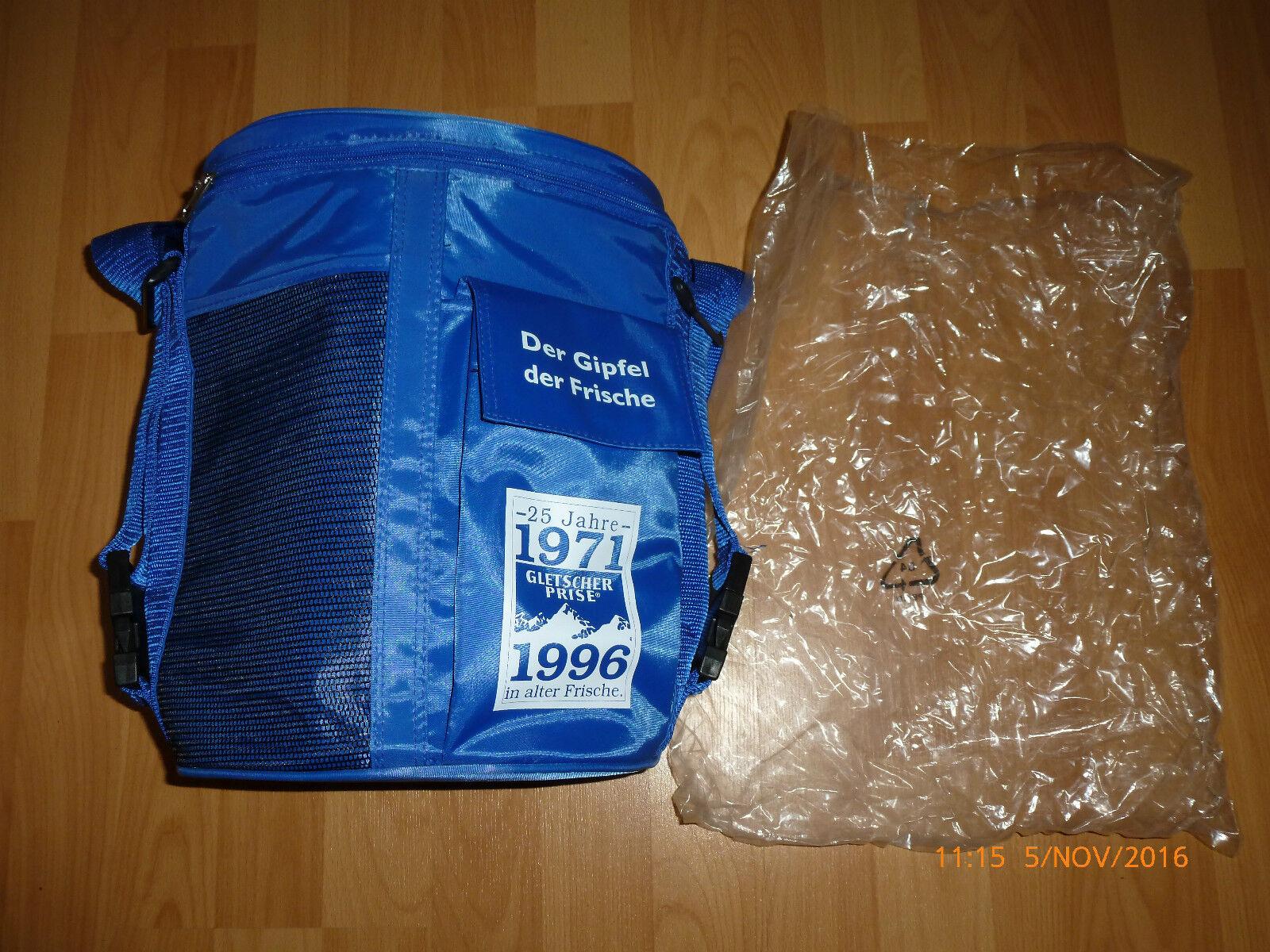 Kühltasche, Kühlbox Tasche von Gletscher Prise  25 Jubiläum 1971-1996  unbenutzt