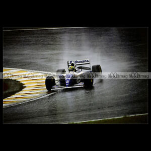 #pha.014073 Photo WILLIAMS FW16 AYRTON SENNA GP F1 1994 INTERLAGOS Car Auto wfANCC75-09093958-443450824