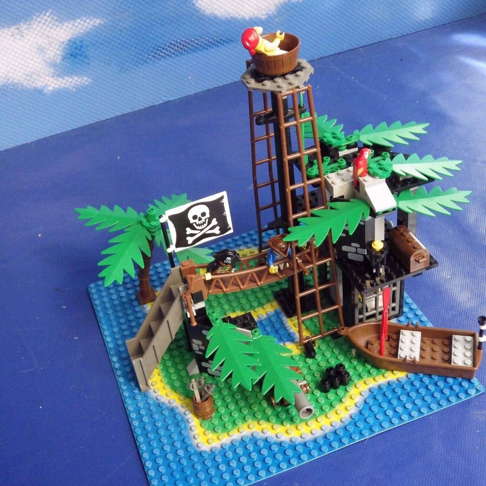 LEGO  6270  Pirati Isola Proibita 100% COMPLETO