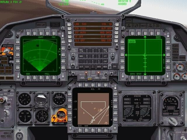 Jane's Combat Simulations: F-15, til pc, simulation