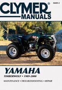 clymer m489 2 service repair manual for yamaha timberwolf 250 rh ebay com 1992 yamaha timberwolf 250 service manual yamaha timberwolf 250 2x4 service manual
