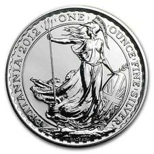 New 2012 UK Great Britain Silver Britannia 1oz Bullion Coin