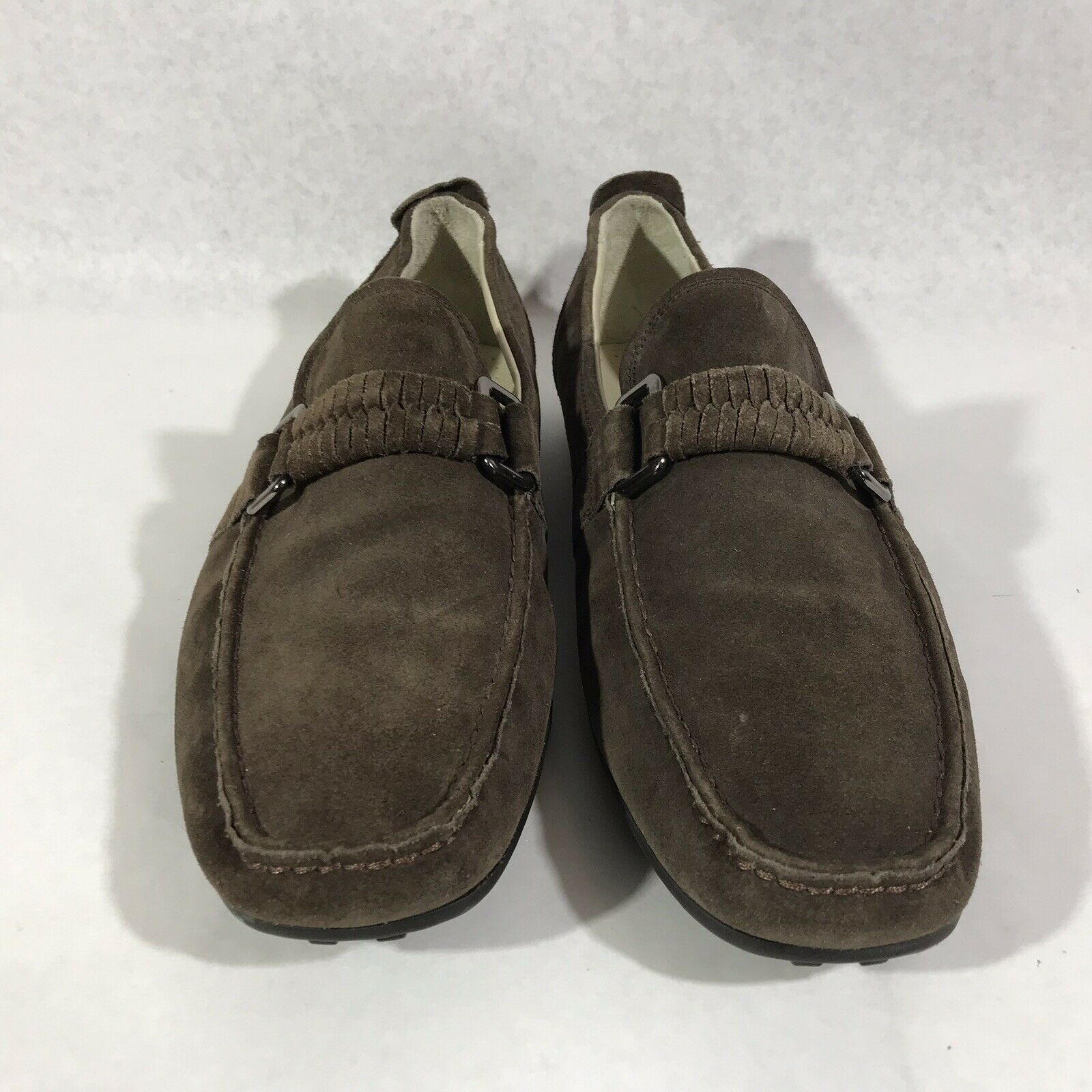 Kenneth Cole Turbo Jet 9.5 Leather Loafers - image 2