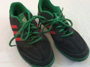 Details about Adidas Mexico Edition Red Black Green Mens Size 7 Running Shoes
