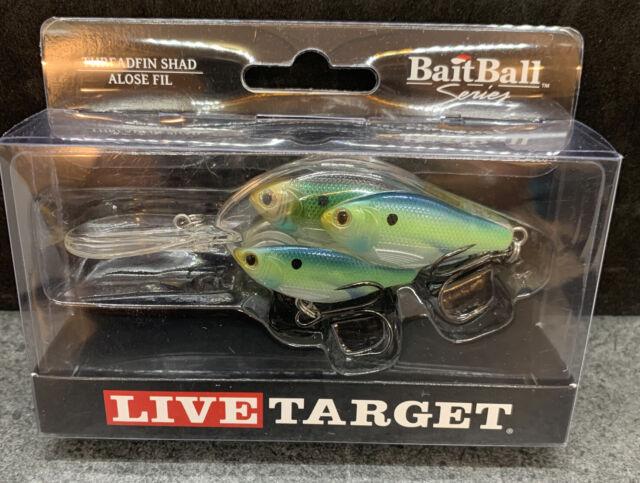 LiveTarget Live Target BaitBall Yearling Jerkbait 3//8 oz Blue Chart Shad Color