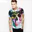 Space-Galaxy-Crane-d-039-impression-3D-Femme-Homme-Casual-T-shirt-a-manches-courtes-Graphic-Tee miniature 17
