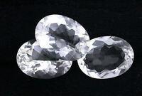 One 16x12 16mm X 12mm Oval Cut Bolivian White Topaz Gem Stone Gemstone Jmn91