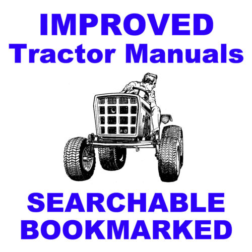 SEARCHABLE INDEXED CD ALLIS CHALMERS AC 7060 7080 Tractor SHOP Service MANUAL