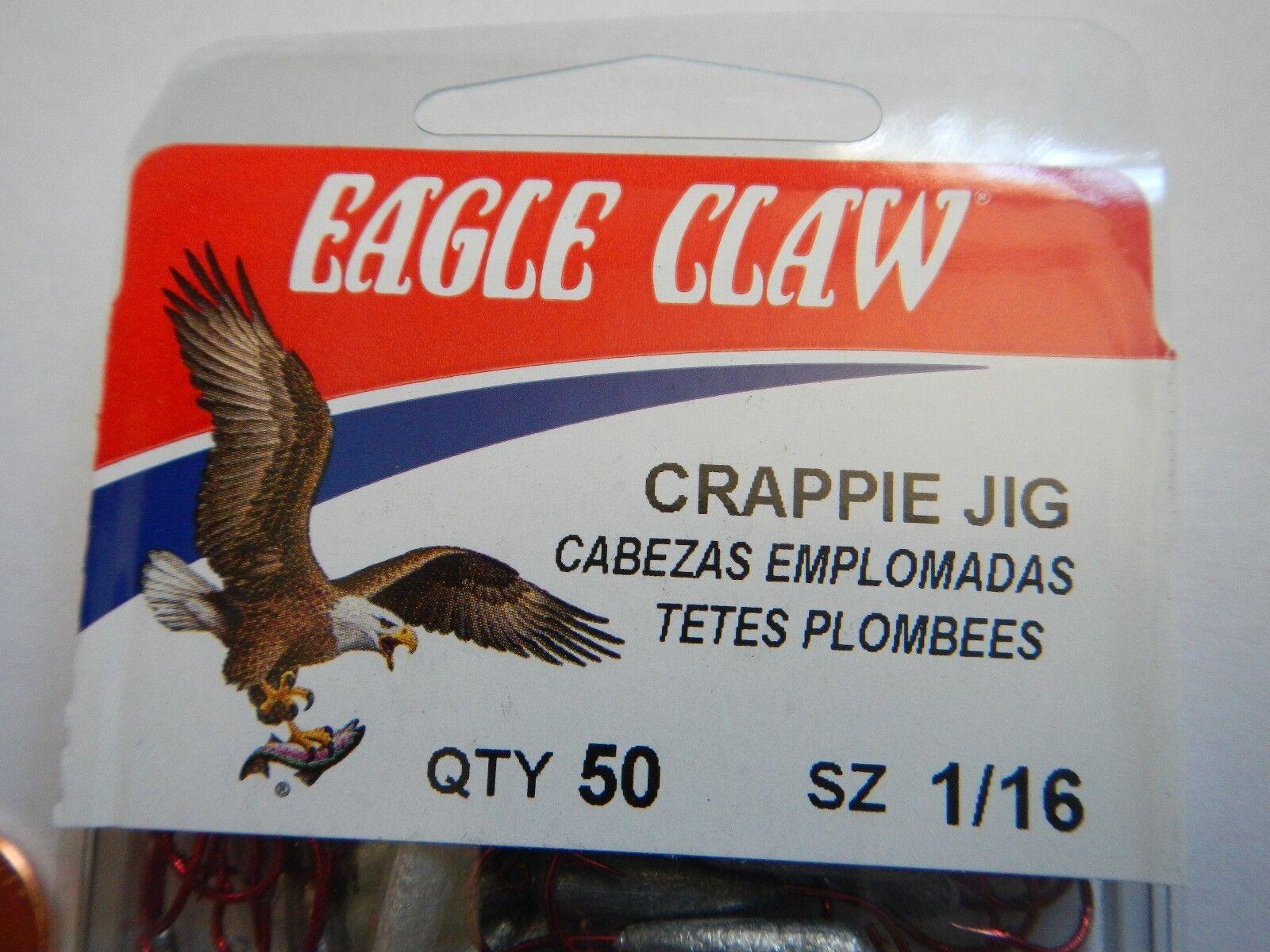 Eagle Claw Crappie Jig Assortment JC132ASSTAH