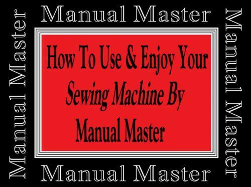 Janome Nuevo Hogar 532 Zig-Zag Sewing Machine Folleto De Instrucciones Manual