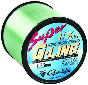 Spro-Gamakatsu-Super-G-Line-0-16mm-0-40mm-verschiedene-Staerken-2000-mtr-Spulen
