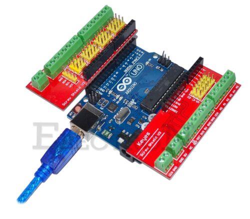 Arduino UNO Screw Shield V3 Sensor Prototipe Vite Connettori Morsettiera Mega
