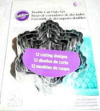 Wilton Cake Fondant Double Cut-Outs FLOWER DESIGN
