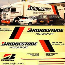 Scania Renntransporter Bridgestone Motorsport 1:87