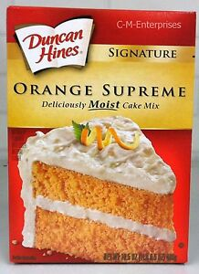 List Of Duncan Hines Cake Mixes