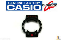 Casio G-9100-1v Original G-shock Black Bezel Case Shell W/ Red - Gray Lettering