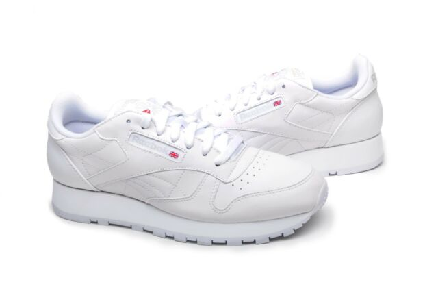 ebfc41f08d7 Reebok Classic Leather 9771 White light Grey Men US Sz 8 for sale ...