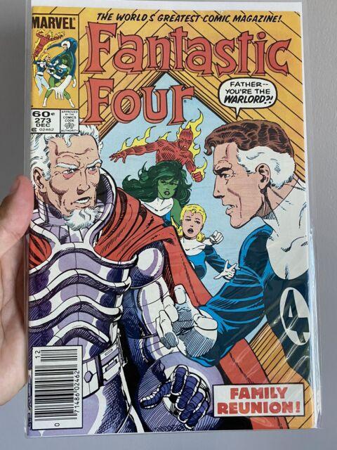 Fantastic Four #273 Marvel 1984 Comic Book 1st App of Nathaniel Richards