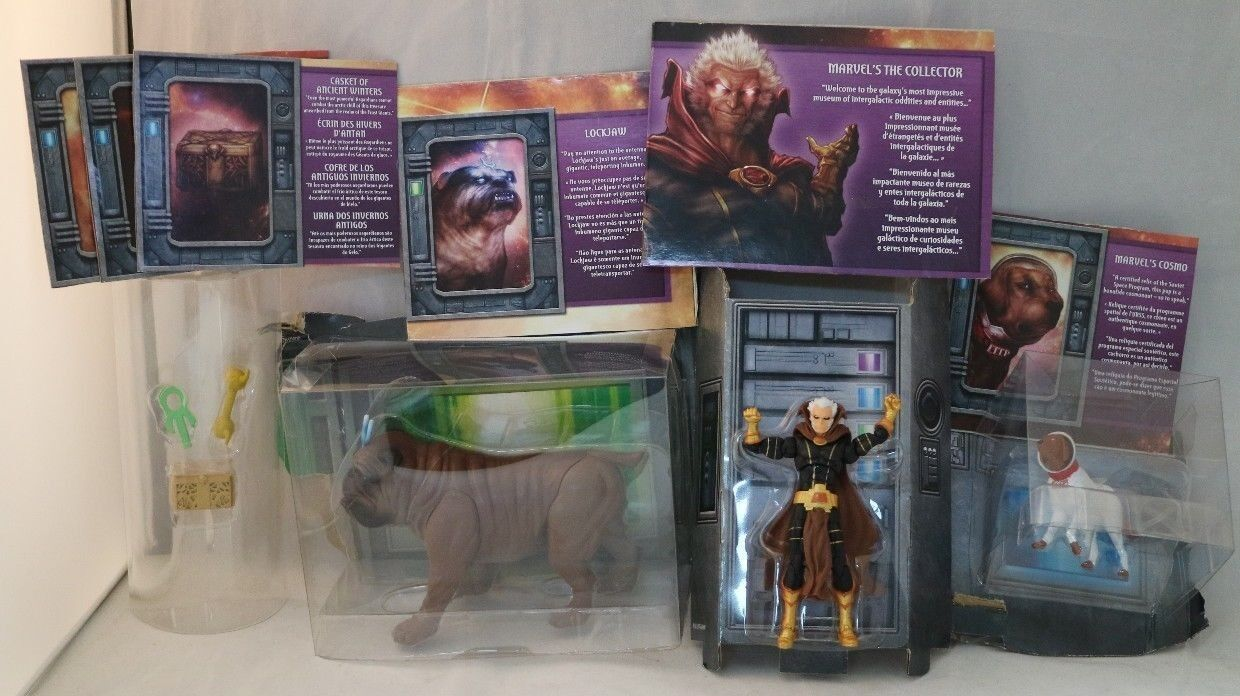 SDCC Comic Con 2016 Marvel Legends The Collector's Vault Exclusive Set LOOSE