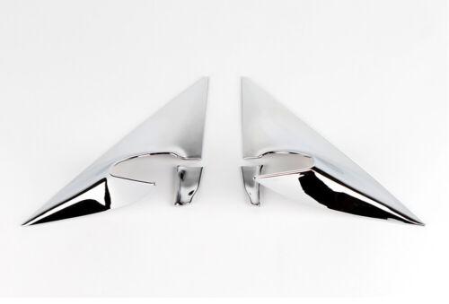 Accessoires Pour Hyundai Veloster Chromé Miroir panneaux panneaux pour a Pilier 4-tlg