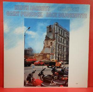 KEITH JARRETT CHANGES VINYL LP 1984 ORIGINAL PRESS GREAT CONDITION! VG++/VG++!!