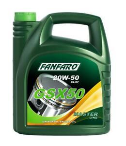 Aceite-20W50-Lubricante-de-motor-para-coches-FANFARO-Calidad-Aleman-5L