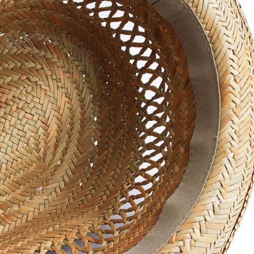 Trilby Hat Summer Sun Holiday Fedora Mens Womens Ladies Festival Wedding Straw