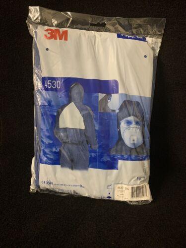 Orginal 3M Schutzanzug 2XL 4530 TYP 5//6 Blau Schutz Anzug Overall Größe186-194cm