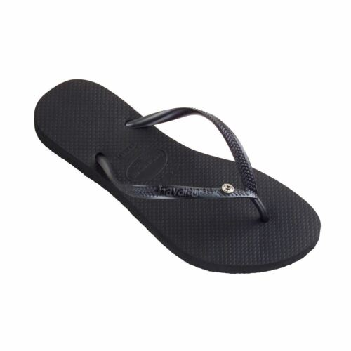 1 of 1 - Havaianas Slim Crystal Glamour Women's Flip Flops Variety of Colors All sizes