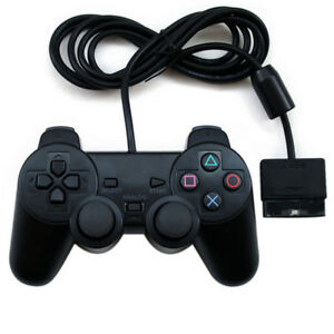 1-Pack-PS2-Wired-Controller-Compatible-for-Sony-PS2-Playstation-2-Black