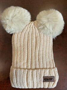 GZDOT  Beanie Hat   With Furry Palm Palm
