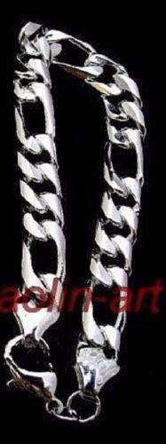 vogue homme d/'argent plaqué Bracelet 21cm x 10mm